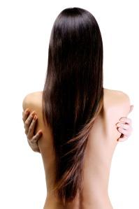 beautiful long straight hair